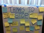Things to Stop